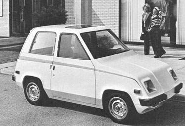 The Cda S Copper Electric Runabout