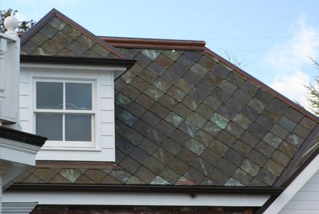 Mrn Copper Diamond Roof Shingles