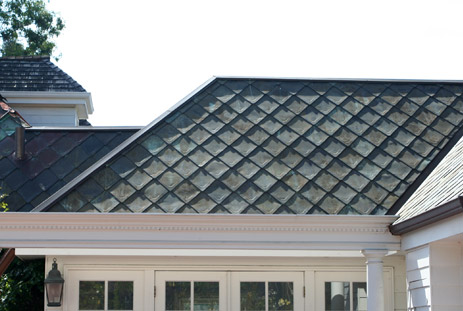 Architectural Category: Flat Seam Roofs And Walls