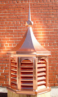 Copper In The Arts Magazine The Art Of Copper Cupolas