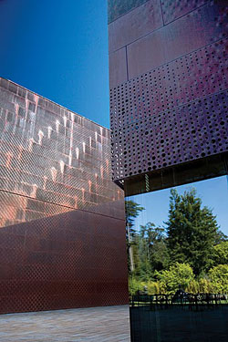 Copper In The Arts Magazine Restoring The De Young Museum