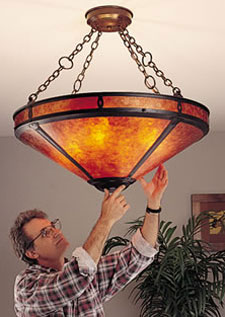 Installing A Mica Lamp