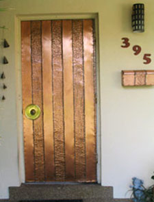 Roy Datz Designer Of Unique Handmade Copper Doors
