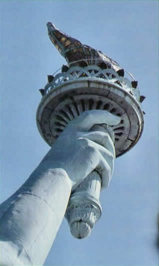 Education Statue Of Liberty Reclothing The First Lady Of