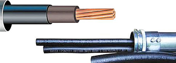 Mixed Electrical Cables