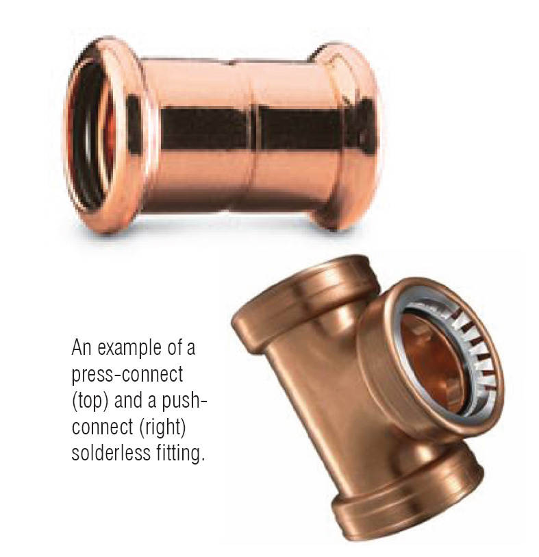 Cold fusion joining copper plumbing without heat
