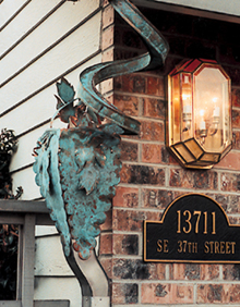 Outdoor Copper Enhances Homes