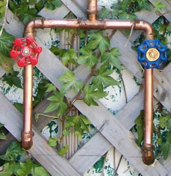 Dc online april turning showers inside out for Copper pipe shower