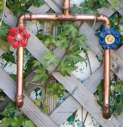 Great Outdoor Copper Shower