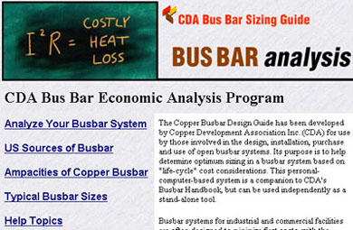 Innovations Copper Busbar Sizing Guide